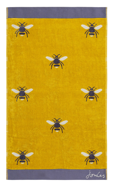 Joules Botanical Bee Gold Towels