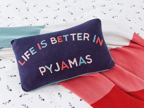 Joules Life`s Better Comet 30cm x 50cm Cushion