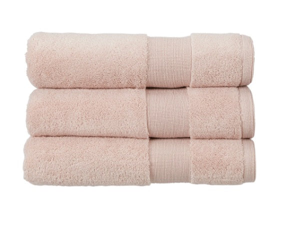 Kingsley Carnival 100% Cotton 650gsm Blush Towels
