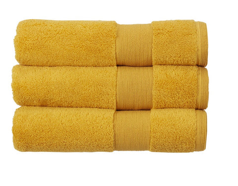 Kingsley Carnival 100% Cotton 650gsm Saffron Towels