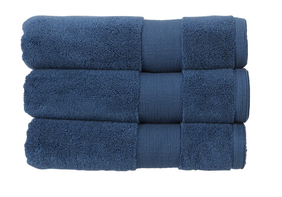 Christy Living Carnival 100% Cotton 650gsm Sapphire Towels