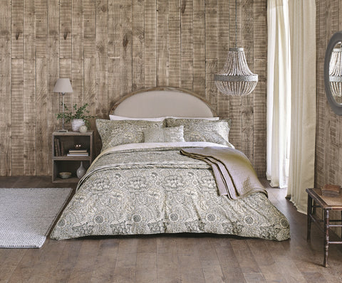 William Morris Wandle Grey Bedding