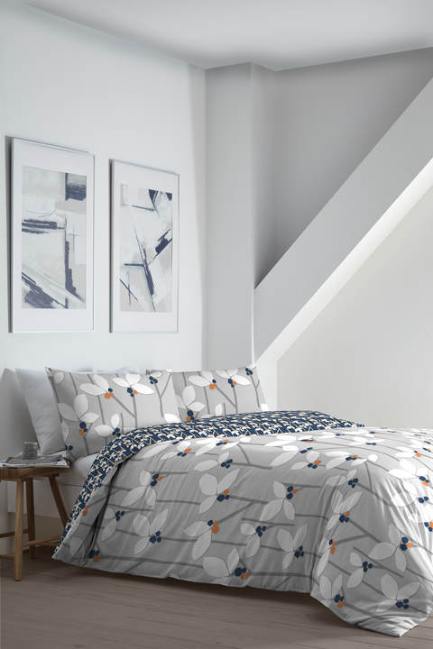 Appletree Malmo Grey Duvet Set