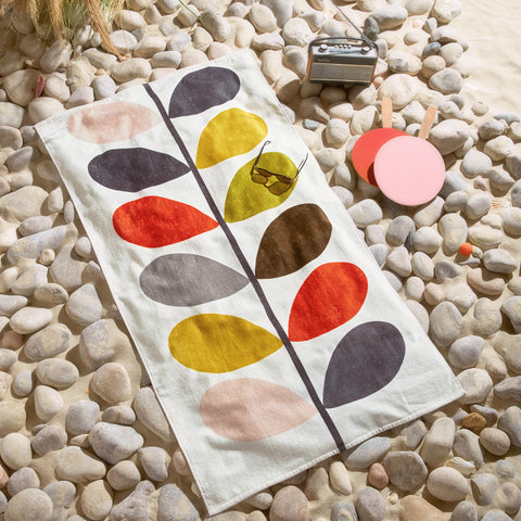 Orla Kiely Multi Stem Beach Towel