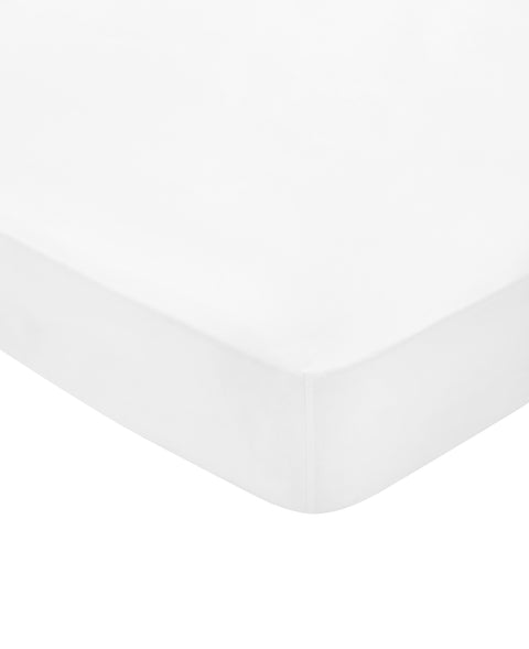 Bedeck of Belfast Fine Linens 100% Egyptian Cotton Percale 300 Thread Count White Sheets