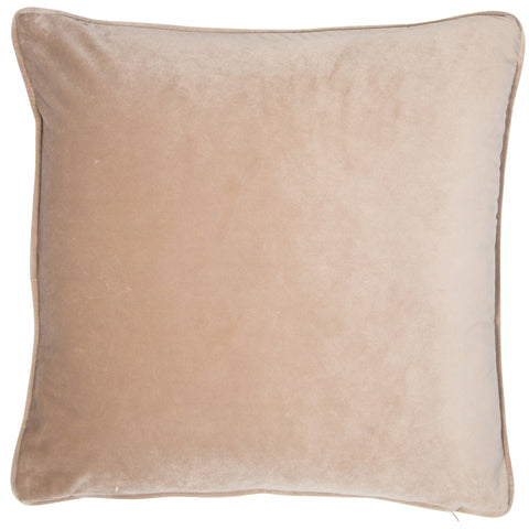 Malini Luxe Velvet Piped 43cm x 43cm Filled Cushion