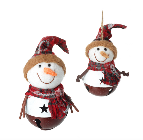 Heaven Sends Christmas DJS010A Snowman Bell Set