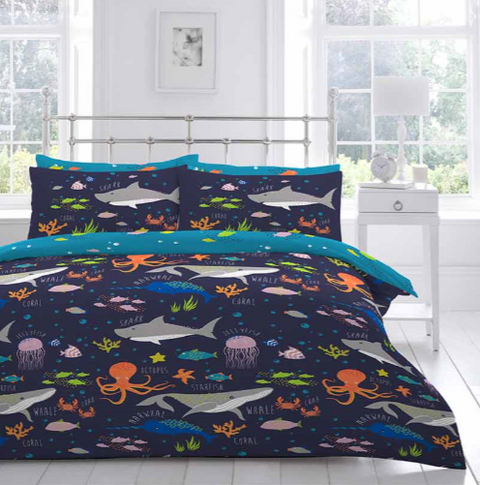 Bedlam Sea Life Bedding