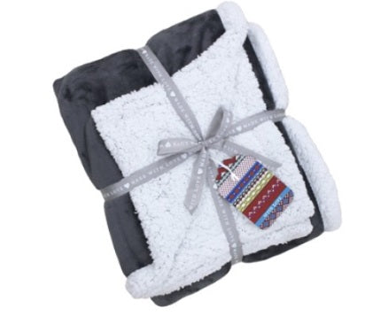 Riva Lux Sherpa Christmas 127x152cm Fleece Throw