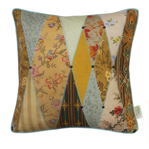 The Chateau Collection - Wallpaper Museum 43cm x 43cm Feather Filled Cushion
