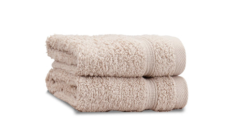 Catherine Lansfield Zero Twist 100% Cotton 450gsm Natural Towels