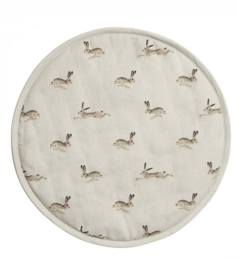 ALL25175 Sophie Allport Circular Hob Cover Hare