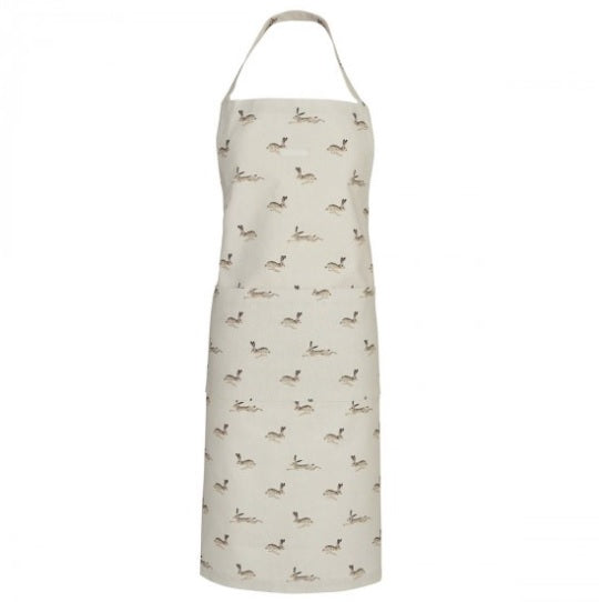 ALL25250 Sophie Allport Adult Apron Hare