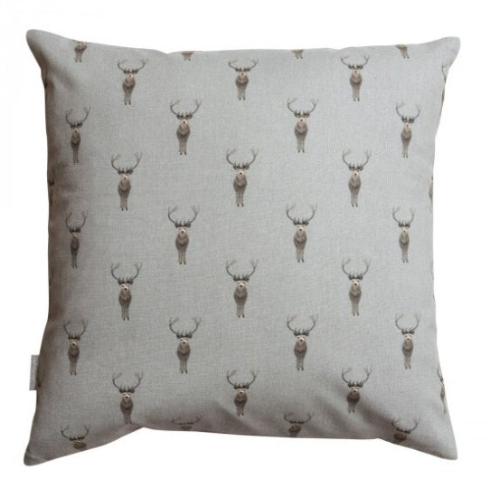 ALL29401 Sophie Allport Cushion Highland Stag 45x45