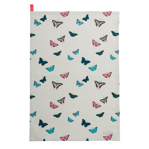 ALL66601 Sophie Allport Butterflies Tea Towel