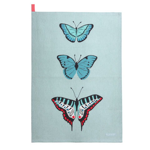 ALL66601S Sophie Allport Butterflies Scene Tea Towel