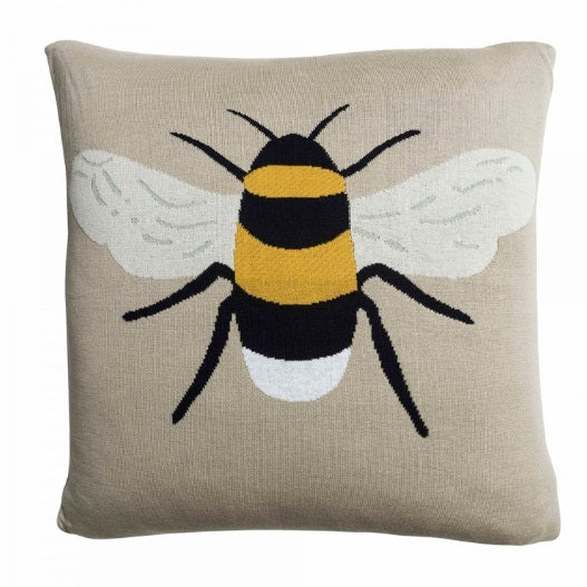 KSC3650 Sophie Allport Bees Knitted Statement Cushion