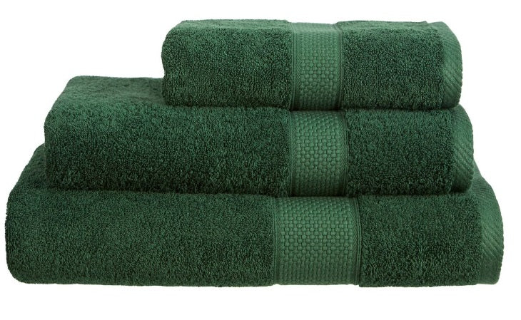 Harwoods Imperial Bottle Green Towels