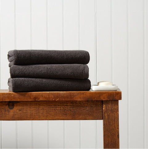 Christy Brixton 100% Cotton 600gsm Liquorice Towels