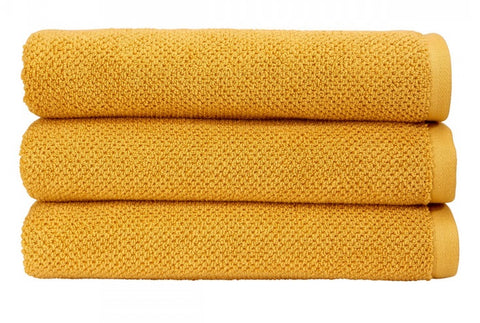 Christy Brixton 100% Cotton 600gsm Saffron Towels