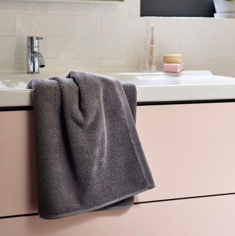 Christy Brixton 100% Cotton 600gsm Titanium Towels