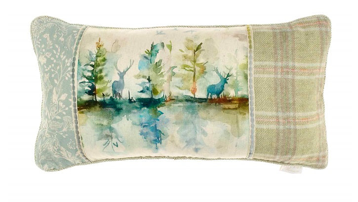 Voyage Maison C180075 Wilderness Patchwork 35cm x 75cm Cushion