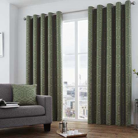 Curtina Camberwell Eyelet Curtains