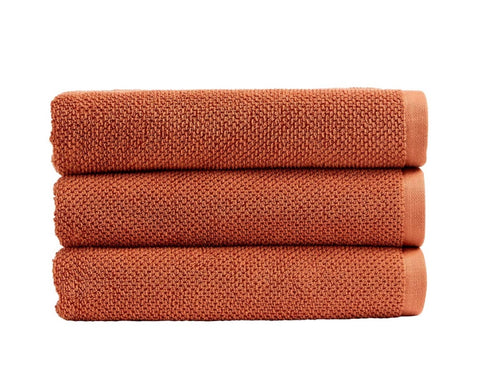 Christy Brixton 600gsm Terracotta Towels