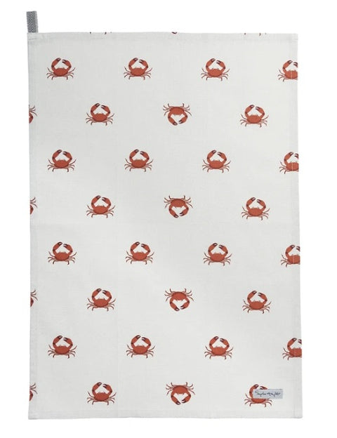 ALL70601 Sophie Allport Crab Tea Towel