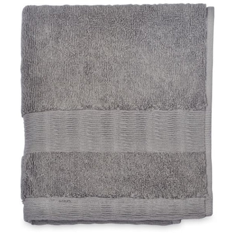 DKNY Mercer 800gsm 100% Cotton Grey Flannel Towels