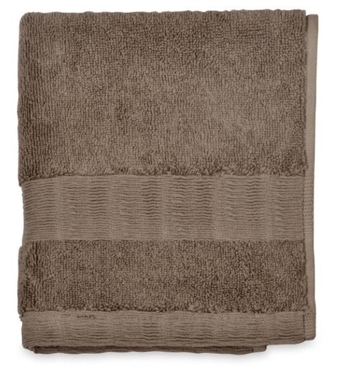 DKNY Mercer 800gsm 100% Cotton Grey Stone Towels
