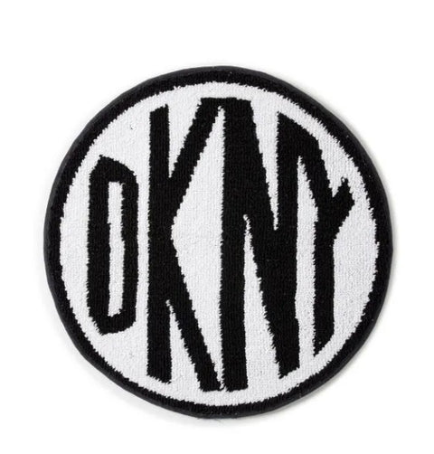 DKNY Circle Logo Bath Mat