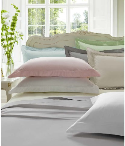 Dorma 300TC 100% Cotton Silver Sheets