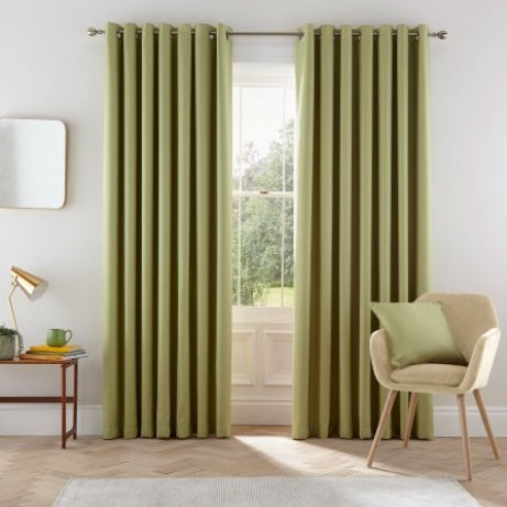 Helena Springfield Eden Lined Eyelet Curtains