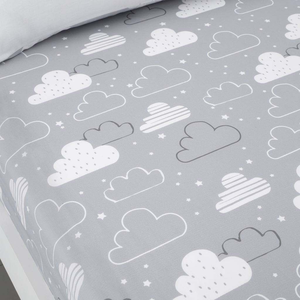 Cosatto Fairy Clouds Grey Bedding
