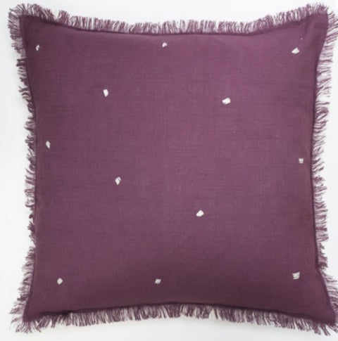 Fat Face Leia Plum 45cm x 45cm Polyester Filled Cushion