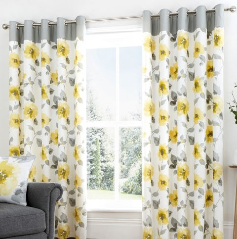 Fusion Adriana Eyelet Curtains