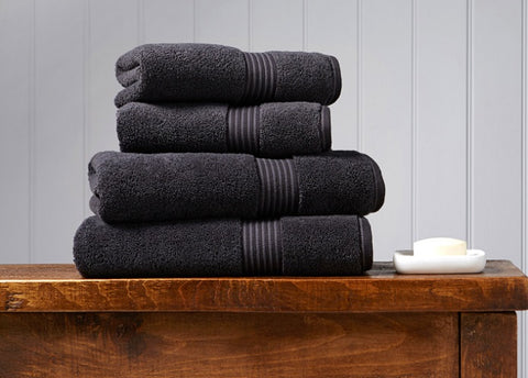 Christy Supreme Graphite 650gsm Towels