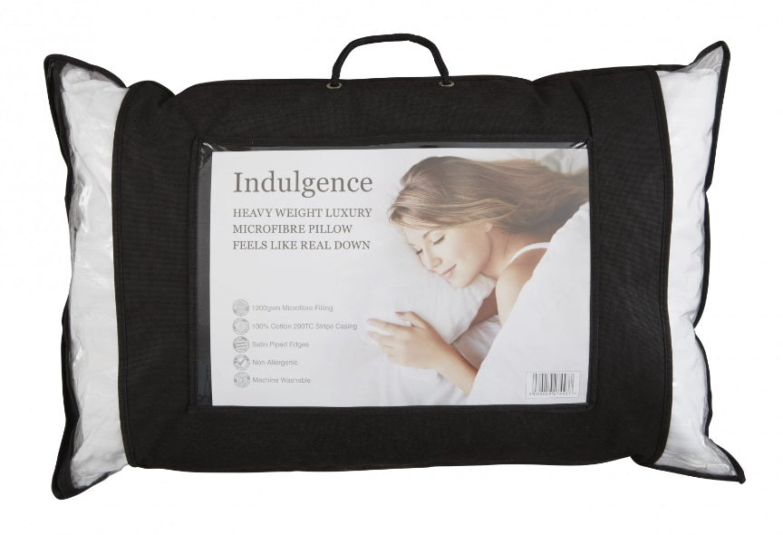 Indulgence Feels like Down Pillow