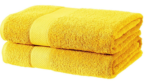 Harwoods Imperial Ochre Towels