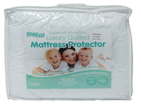 Dreameasy 80gsm Feels Like Down Mattress Protector