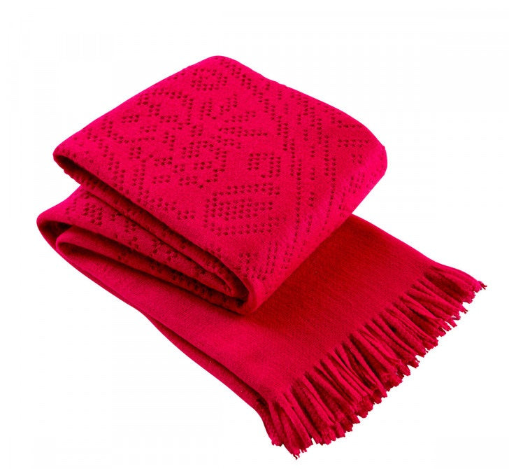 Christy Knitted Lace Throws