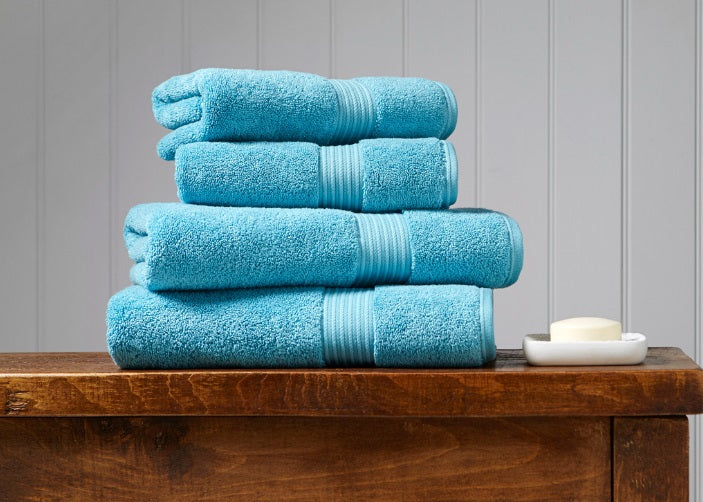 Christy Supreme Lagoon 650gsm Towels