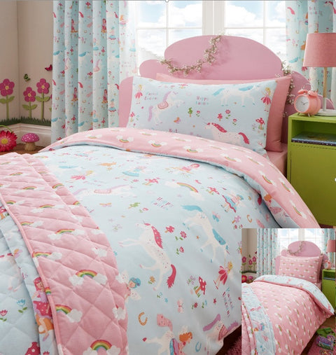 Kids Fine Home Magic Unicorn Duvet Set