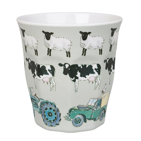 MBK2403 Sophie Allport On the Farm Children`s Melamine Beaker