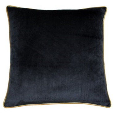 Riva Paoletti Meridian Black/Gold 55x55cm Cushion