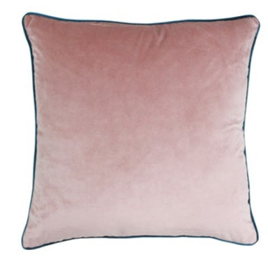 Riva Paoletti Meridian Blush/Teal 55 x55cm Cushion