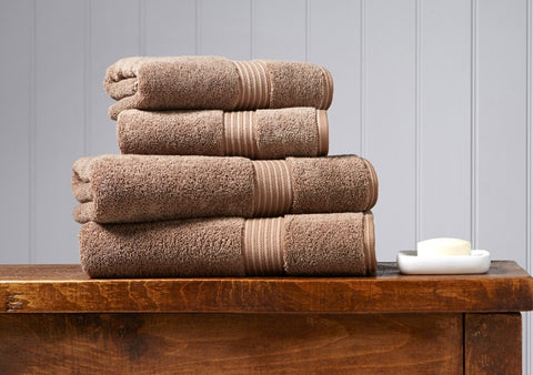 Christy Supreme Mocha 650gsm Towels