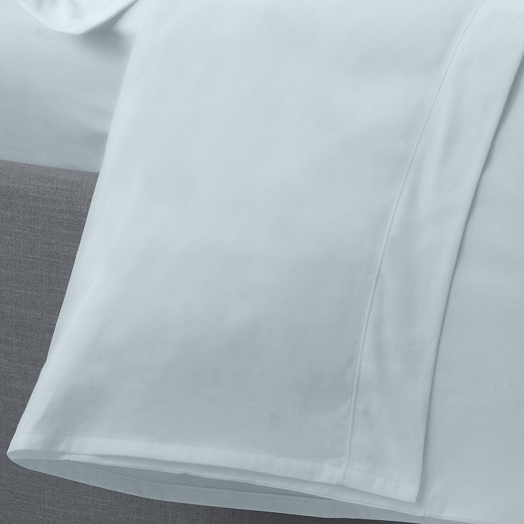 Serene 52% Polyester/48% Cotton Duck Egg Plain Dye Sheets