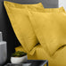 Serene 52% Polyester/48% Cotton Ochre Plain Dye Sheets